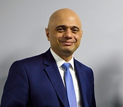 Sajid Javid, the new Chancellor of the Exchequer