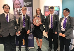 Hollingworth Academy crowned champions of Rochdale Sixth Form College Maths Challenge