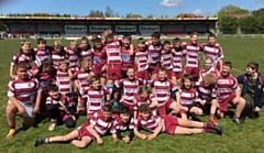 Lancashire Champions 2019 - Rochdale Rugby Union Club Under 13s