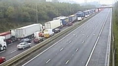 Motorists advised to avoid M62 which is closed both directions due to police incidents