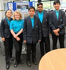 Kingsway Park High School Science Club at Number One Riverside