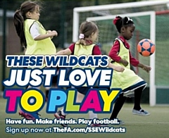 Springfield Park Junior Football Club SSE Wildcats Centre: football for girls aged 5-11
