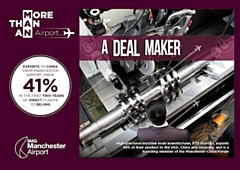 Rochdale business PTG Holroyd features in the Manchester Airport campaign, More Than An Airport