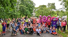 Queen's Park junior parkrun celebrated their 100th run on 14 July
