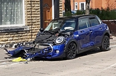 The collision on Entwisle Road on Friday 5 July