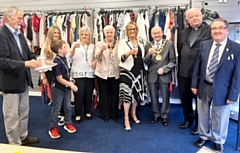 Mayor Billy Sheerin officially opened a new premises in Heywood for Little Monkeys charity