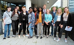 Rochdale Sixth Form students celebrate A-level success
