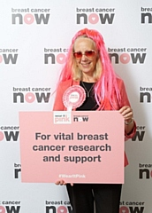 Heywood and Middleton MP Liz McInnes added an extra dash of pink to her signature black and pink colours to support Breast Cancer Now�s �wear it pink� fundraiser