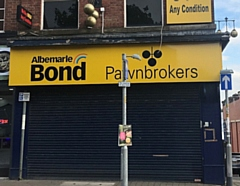 Abelmarle and Bond pawnbrokers on Yorkshire Street