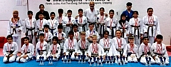 The DOJO Karate Centre Squad Winners