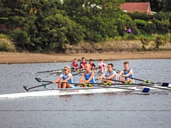 North of England Rowing Sprint Championships 2019 - Hollingworth Lake Mixed Quad