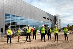 BES has been appointed to fit-out the new Vaccines Manufacturing Innovation Centre (VMIC) in Oxfordshire