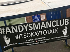 Andys Man Club Rochdale launches at Mayfield Sports Centre