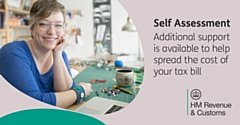 From 1 October 2020, HMRC has increased the threshold to �30,000 for Self Assessment customers