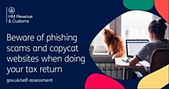 Beware of phishing scams and copycat websites when doing your tax return
