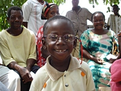 Glasses donated via Specsavers stores were distributed by Vision Aid Overseas