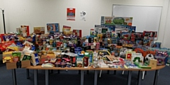 PDS donated over �1,000 worth of toys to Rochdale Council�s Giving Back Toy Appeal, over �400 worth of food to Rochdale Food Bank and raised �2,500 for Springhill Hospice