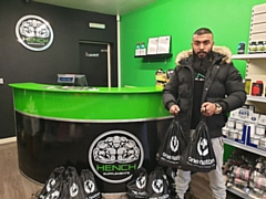 Mohammed Raj Hussain, the owner of Hench Supplements