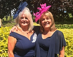 Carolyn Beaumont and Wendy Moore, who run Lily May Boutique in Heywood