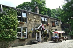The Red Lion Inn in Whitworth