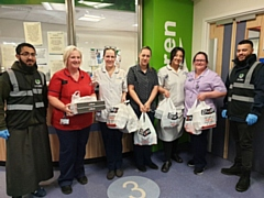 One Nation delivers hot food to The Royal Oldham Hospital