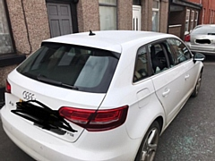 The clinical pharmacist had one bottle of hand sanitiser stolen from their car while it was parked outside their Rochdale home
