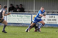 Lewis Butterworth scored Mayfield's opening try