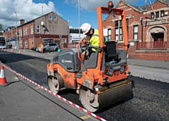 Road resurfacing will take place in August 2020