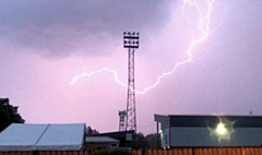 Lightning at Crown Oil Arena, 16 June 2020