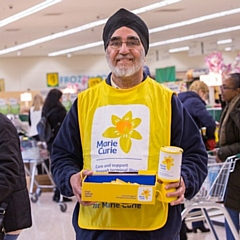 Morrisons stores within the North West raised over £91k for Marie Curie