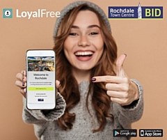 Access loyalty schemes and deals from businesses in Rochdale town centre