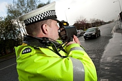Over 40 people were reported for speeding - with the highest being 56mph in a 30mph zone