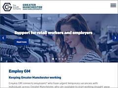 Screenshot of the Employ GM web site