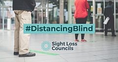Blind and partially sighted people face social distancing challenges