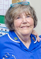 Lilian Fairhurst has been a nurse for 50 years in the Rochdale area