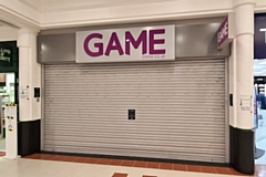 The former Game store in Rochdale Exchange Shopping Centre