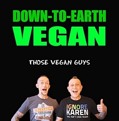 The cover of 'Down to Earth Vegan'