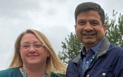 Councillor Rachel Massey and Councillor Faisal Rana