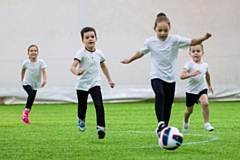 The free sessions aim to introduce 5-11 year olds to the nation�s favourite game