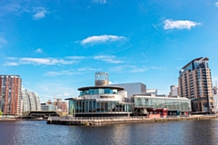 The Lowry Theatre will be used as a Nightingale Court from 28 September