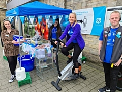Staff at Norden Co-op have been fundraising for Mind with a sponsored cycle