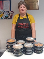 Tracey Szymanek, founder of Tracey�s Kitchen which provides nutritious home cooked meals for older residents, delivered straight to their home