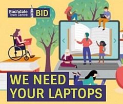Rochdale BID is asking for your unused equipment to help local school children