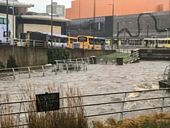 The River Roch, Smith Street, Rochdale 1pm Wednesday 20 January 2021 - Greg Couzens