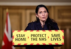 Home Secretary Priti Patel MP