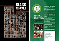 Titled 'Black History Magazine', the work is a collaboration between the Nigeria Community Association Rochdale and Rochdale Borough Council