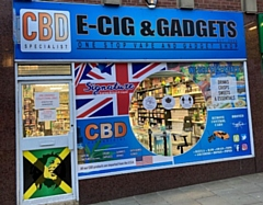 The new E-cig and Gadgets shop at 13 Yorkshire Street