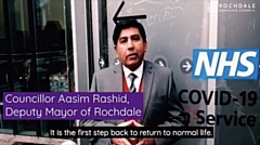 Deputy Mayor of Rochdale, Cllr Aasim Rashid