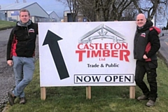 Castleton Timber founders Iain Fay and Chris Walker