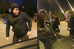 Officers investigating an assault att he Trafford Centre on Christmas Eve have released images of two men - believed to have a connection to Middleton and North Manchester - they wish to speak in connection with the incident.
